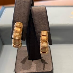 Roberto Coin 18k rose gold Appasionata Earrings